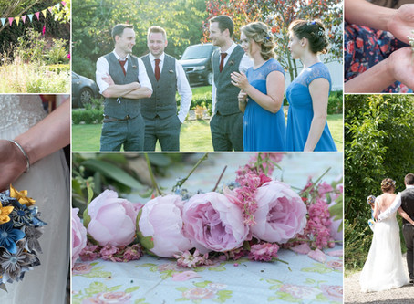 Lucy and Jamie beautiful floral Wedding at the Secret Garden in Kent.