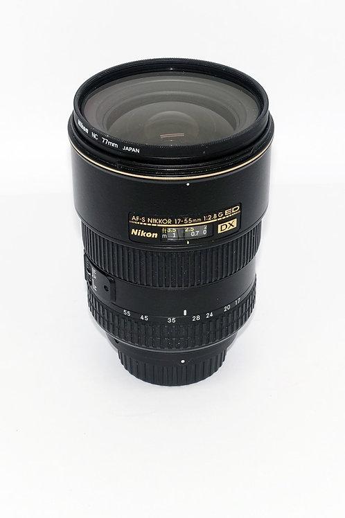 Nikon DX 17- 55mm 2.8
