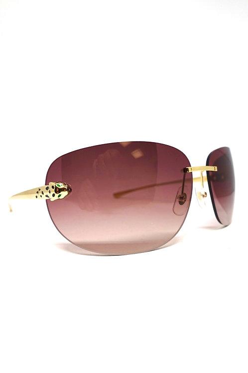 Panthère de Cartier Sonnenbrille CT0266S-003