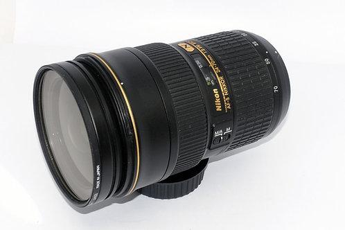 Nikon AF S 24- 70mm 2.8 G ED N