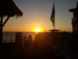 Sunset at Ricks Cafe