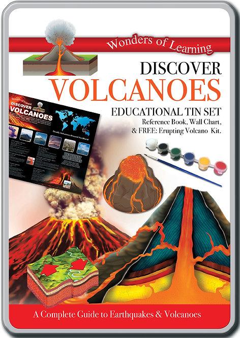 Tin Set - Discover Volcanoes