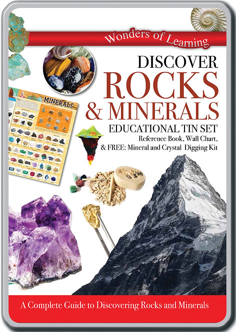 Tin Set - Discover Rocks and Minerals