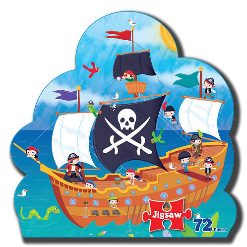 Pirate Jigsaw and Story Book
