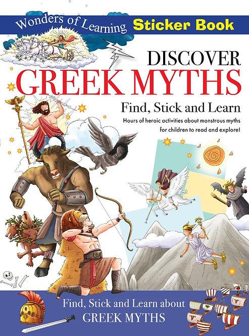 Sticker Book - Discover Greek Myths