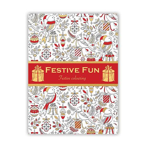 Festive Fun Festive Colouring