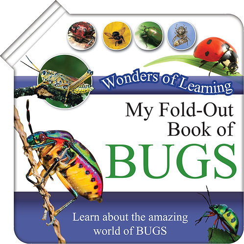My Fold-Out Book of Bugs