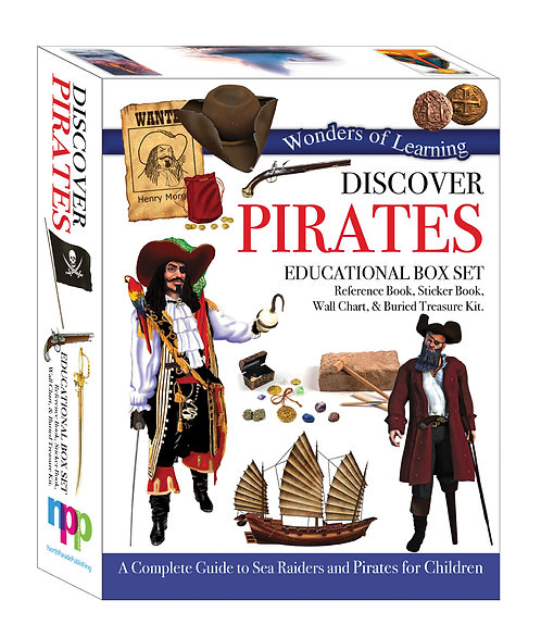 Wonders of Learning Box Set - Discover Pirates