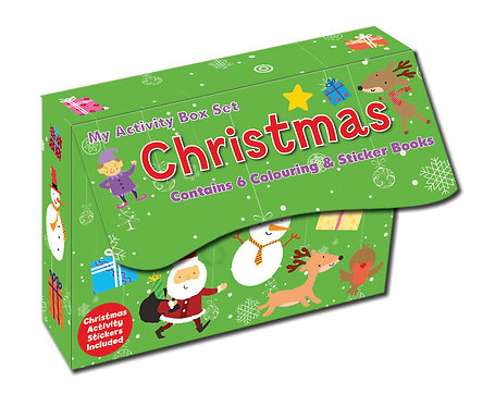 Mini Sticker Activity Set - Christmas