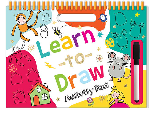 Learn to Draw Wipe Clean Activity Pad