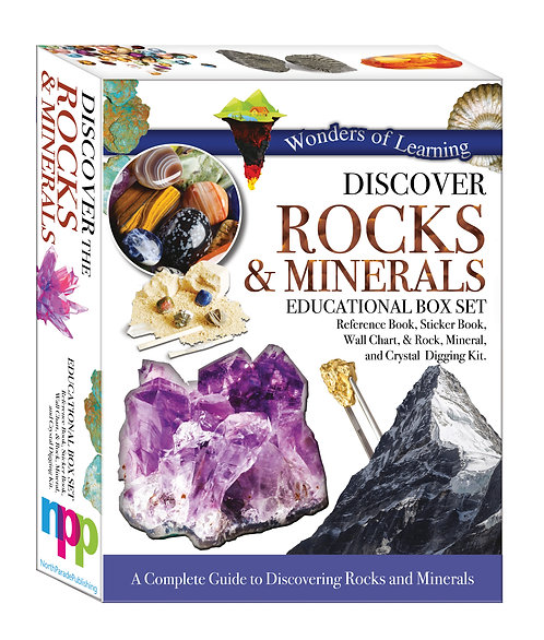 Wonders of Learning Box Set - Discover Rocks & Minerals