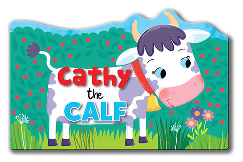 Cathy the Calf - Shaped Animal Book