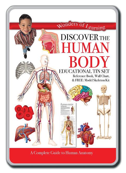 Tin Set - Discover The Human Body