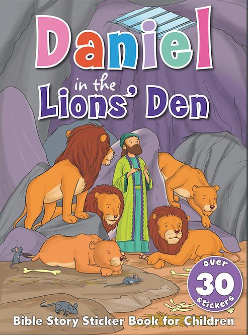 Daniel in the Lions' Den - Bible Sticker Book