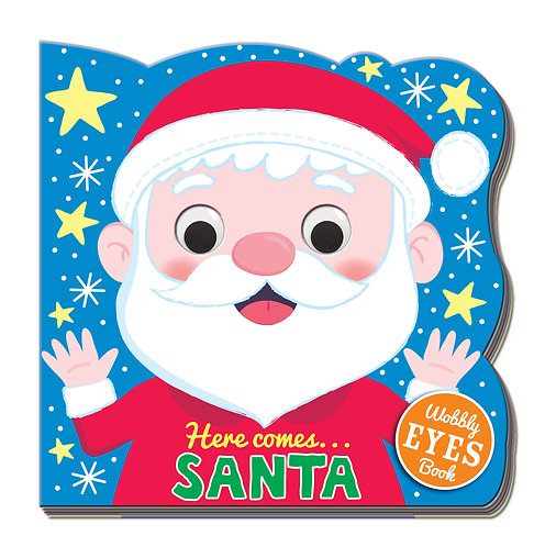 Here comes...SANTA Wobbly Eyes Book