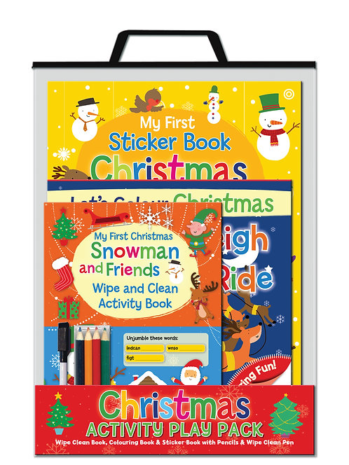 Snowman and Friends - Handle Activity Bags