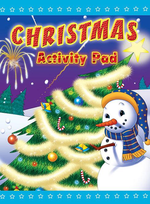 Christmas Snowman - Activity Pad