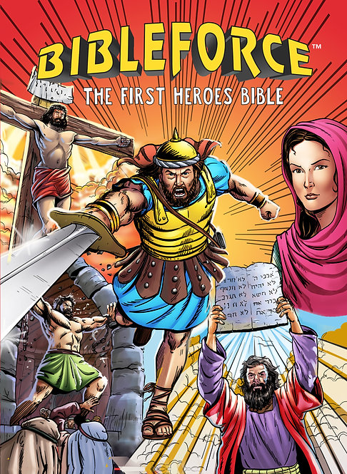 Bible Force - First Heroes Bible