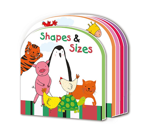 Shapes & Sizes Early Learning EVA Book