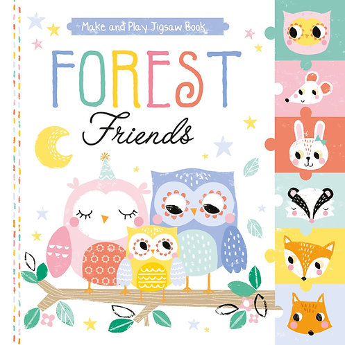 Pull Out Jigsaw Book - Forest Friends