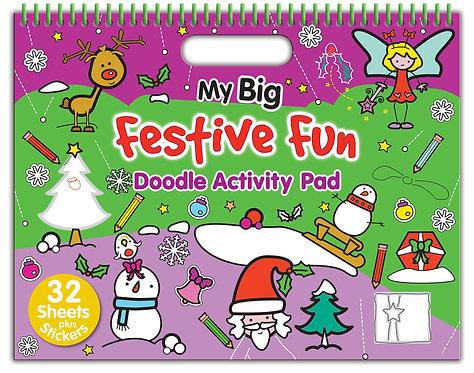 My Big Festive Fun Doodle Activity Pad