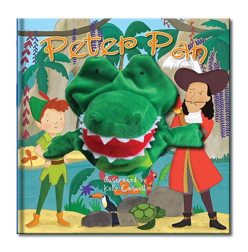 Peter Pan Large Hand Puppet Book