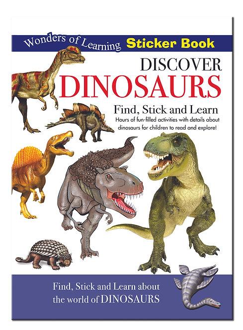Sticker Book - Discover Dinosaurs