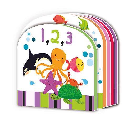 1,2,3 Early Learning EVA Book