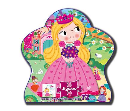 Princess Jigsaw and Story Book