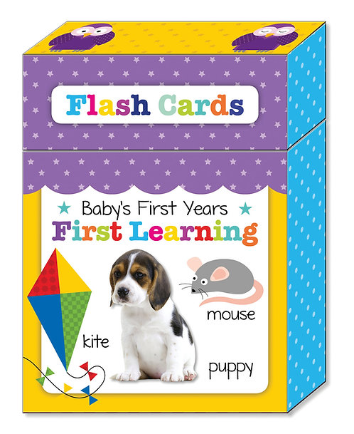 Flash Cards - First Learning