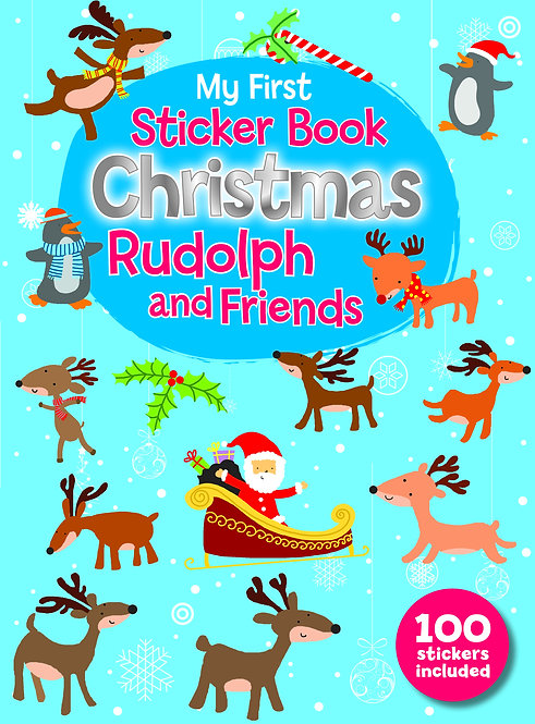 Rudolph and Friends - Sticker Books