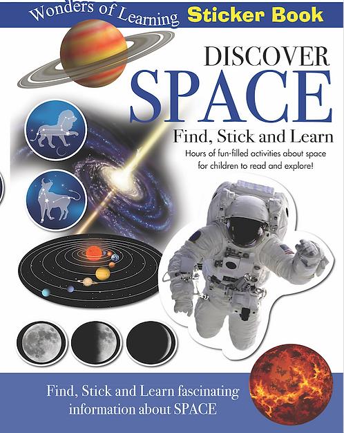 Sticker Book - Discover Space