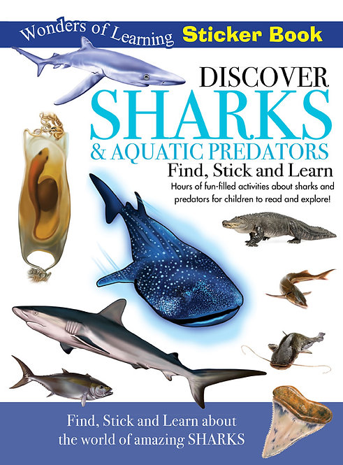 Sticker Book - Discover Sharks