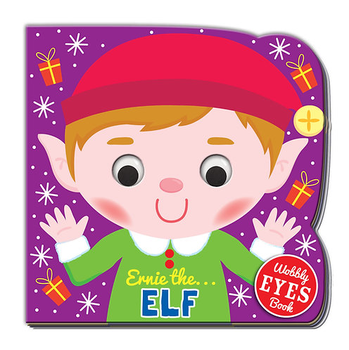 Ernie the Elf Wobbly Eyes Book