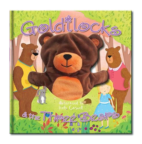 Goldilocks & the Three Bears Large Hand Puppet Book