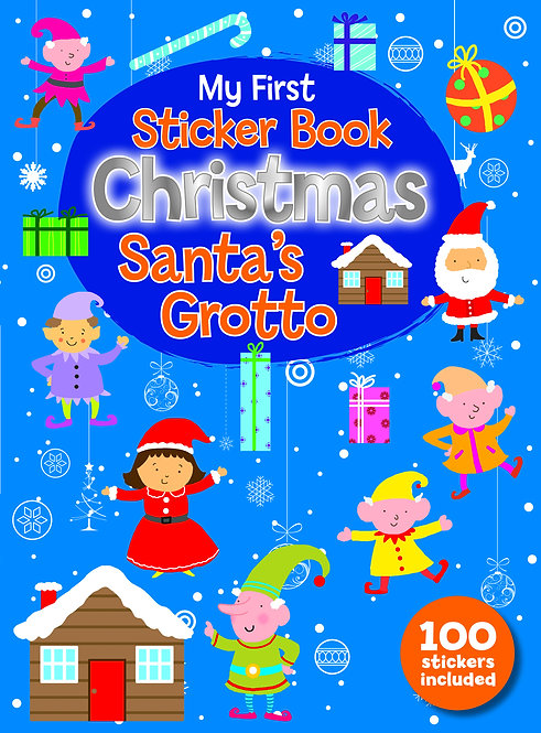 Santa's Grotto - Sticker Books
