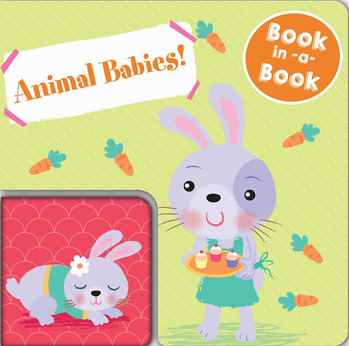Book in A Book - Animal Babies!