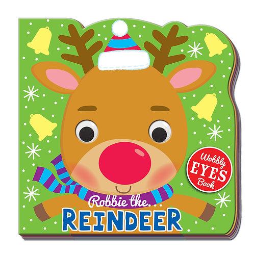 Robbie the Reindeer Wobbly Eyes Book