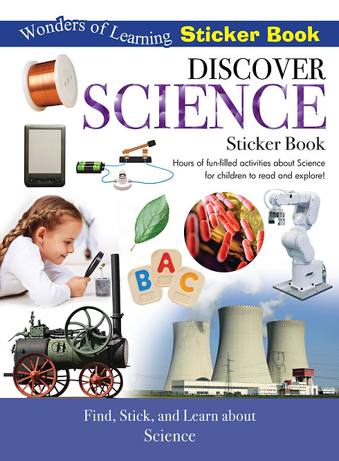 Sticker Book - Discover Science