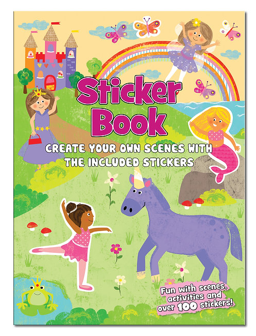 Girls - Create the Scene Sticker Book