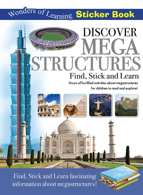 Sticker Book - Discover Megastructures