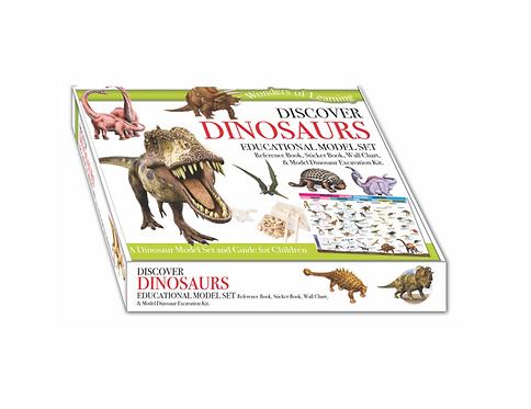 Wonders of Learning Model Set - Dinosaurs
