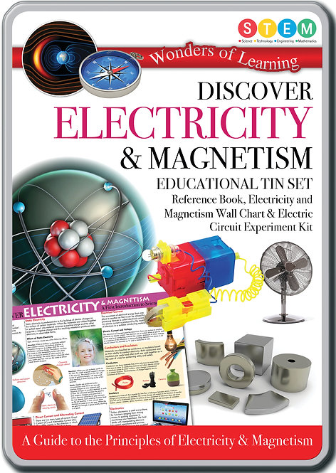 Tin Set - Discover Electricity and Magnetism