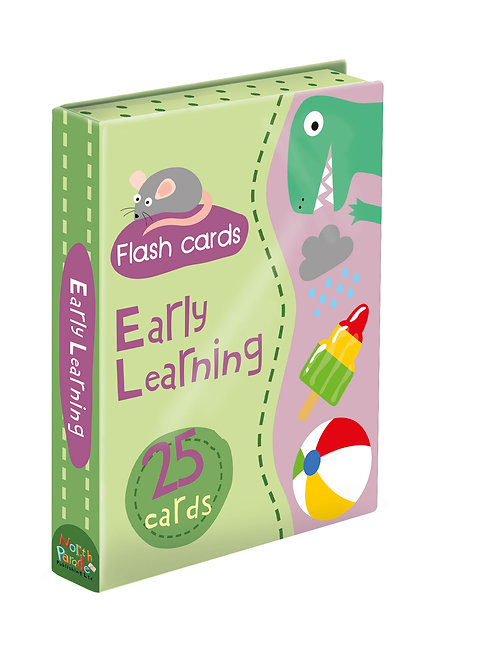 Flash Cards - Early Learning Green