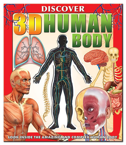 Large Human Body Book