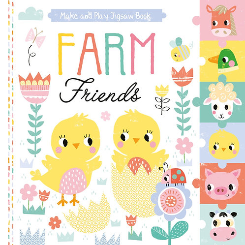 Pull Out Jigsaw Book - Farm Friends