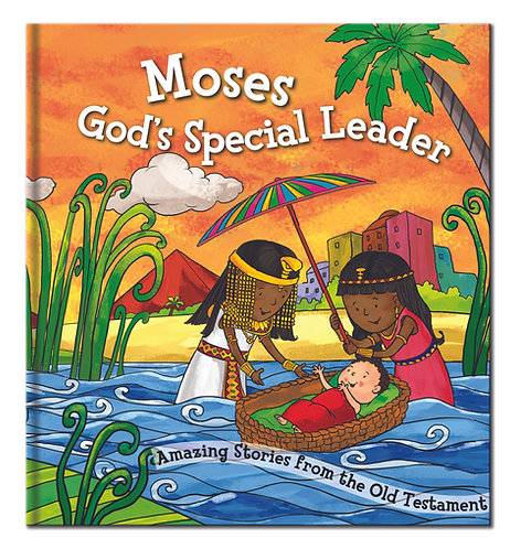 Moses God's Special Leader - Bible Story Book