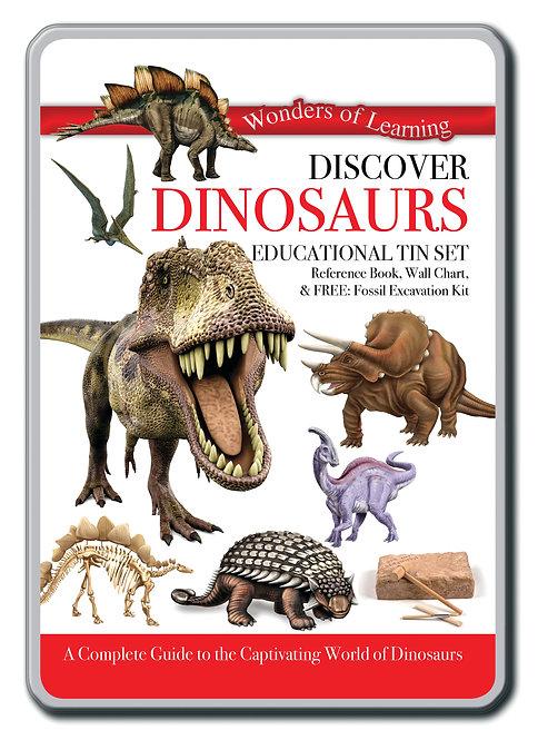 Tin Set - Discover Dinosaurs
