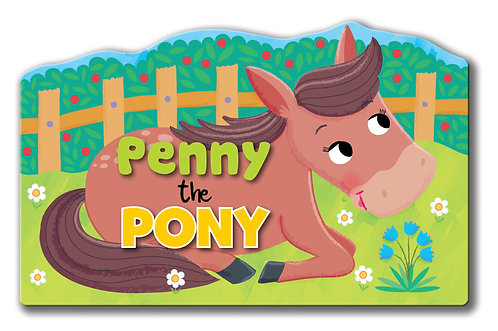 Penny the Pony - Shaped Animal Book