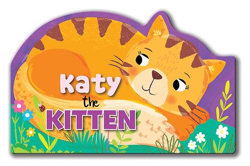 Katy the Kitten - Shaped Animal Book